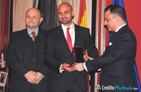 """El empresario Alejandro Melero recibe el premio """"Estrella de Oro"""" a la excelencia profesional"""