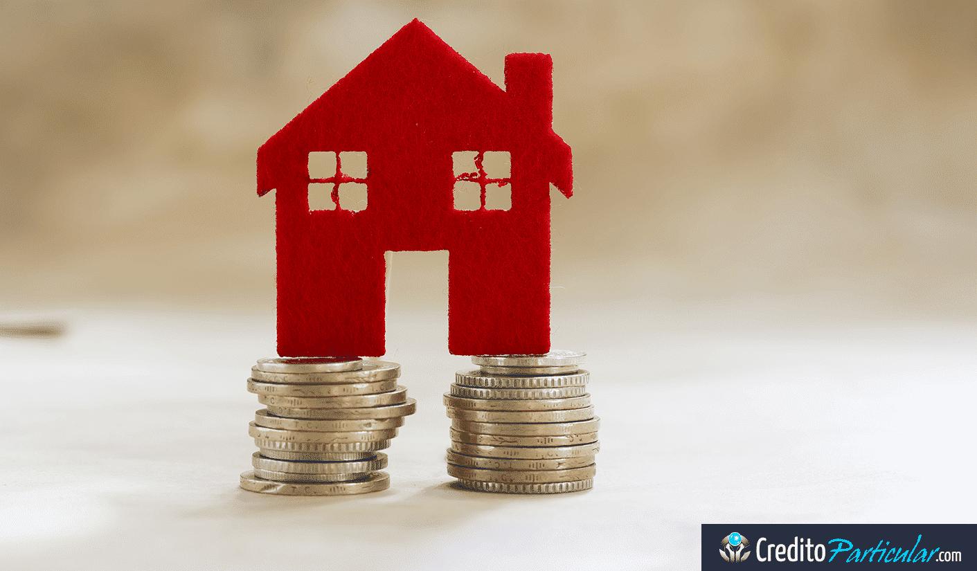 Fuerte retroceso de los préstamos hipotecarios