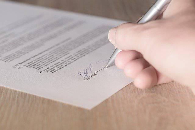 estudio y firma de prestamos
